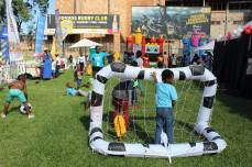 The Kids' play area sponsored by DSTV